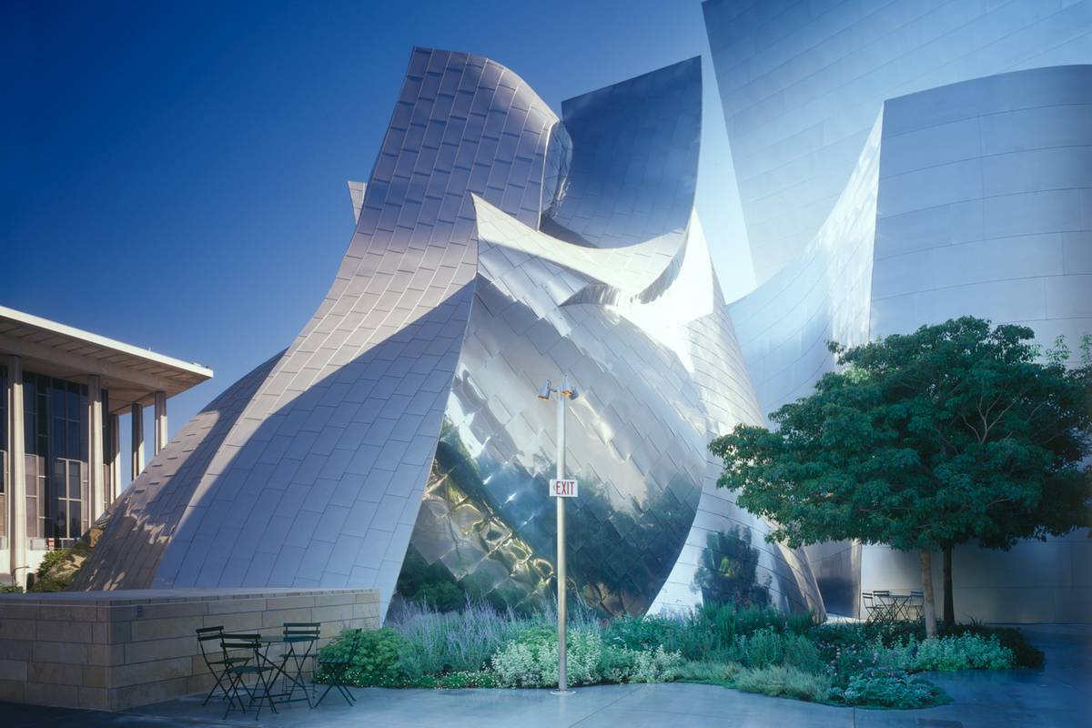 Walt Disney Concert Hall Los Angeles Ruebarue