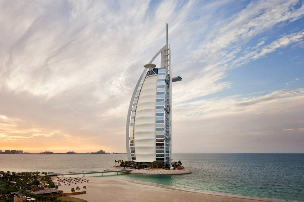Burj al arab dubai ruebarue for Burj al arab reservation