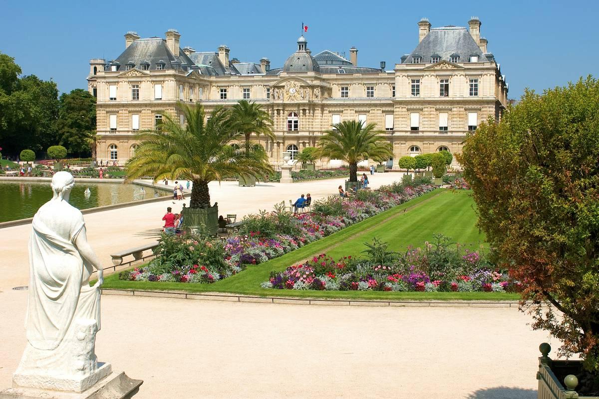 Luxembourg gardens paris ruebarue - Jardin du luxembourg enfant ...