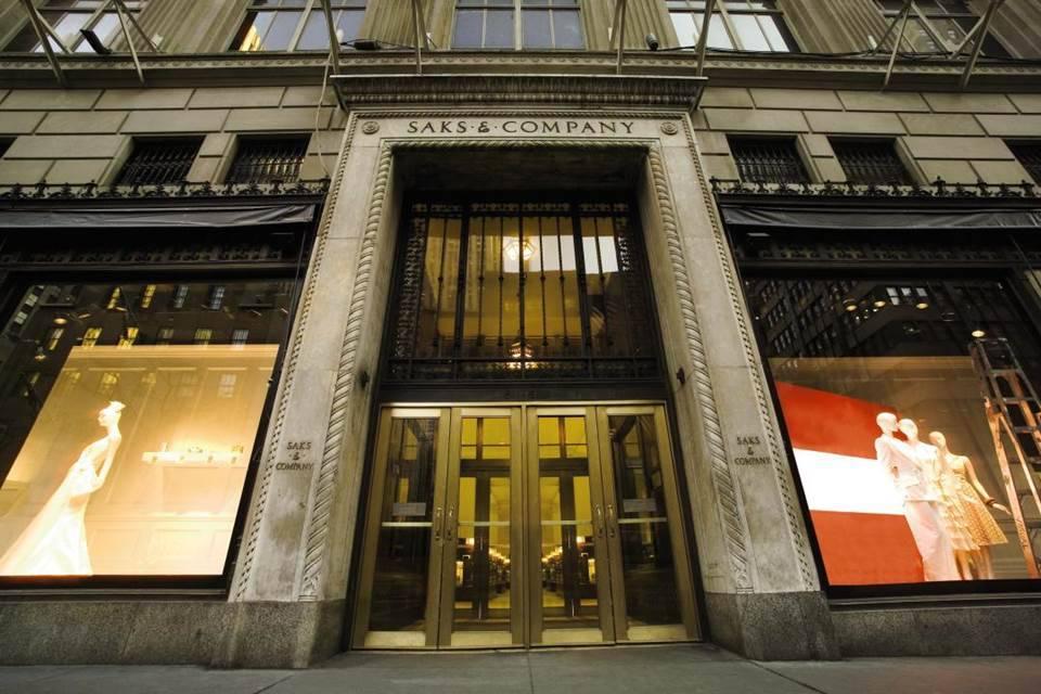 Saks Fifth Avenue New York Shoe Department