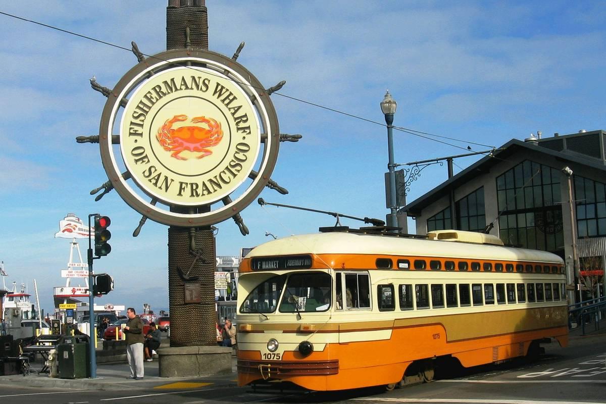 Fisherman's Wharf, San Francisco - RueBaRue