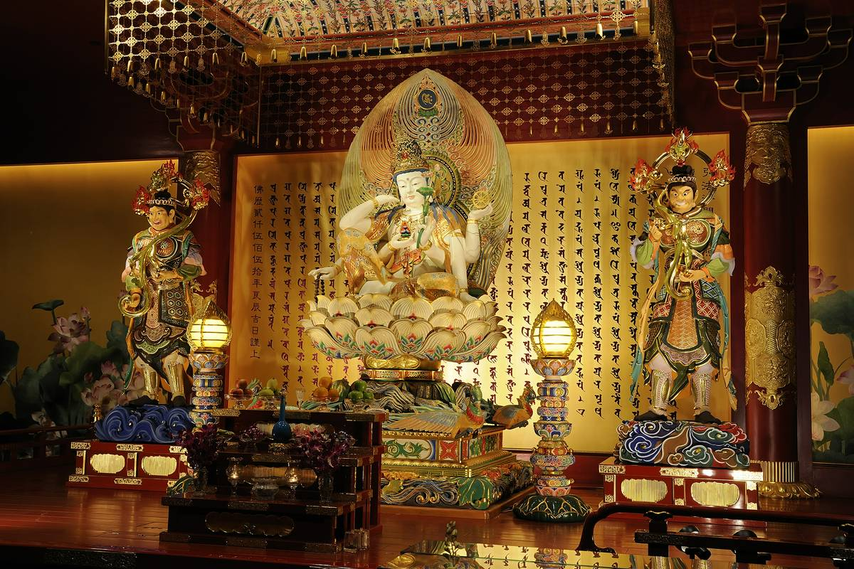Buddha Tooth Relic Temple And Museum Singapore Ruebarue