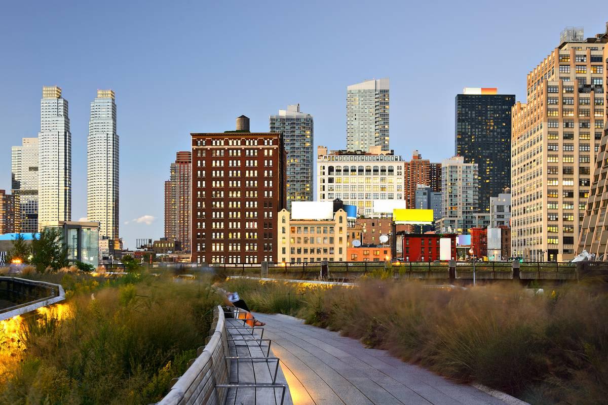 The high line new york city ruebarue for New york city highline