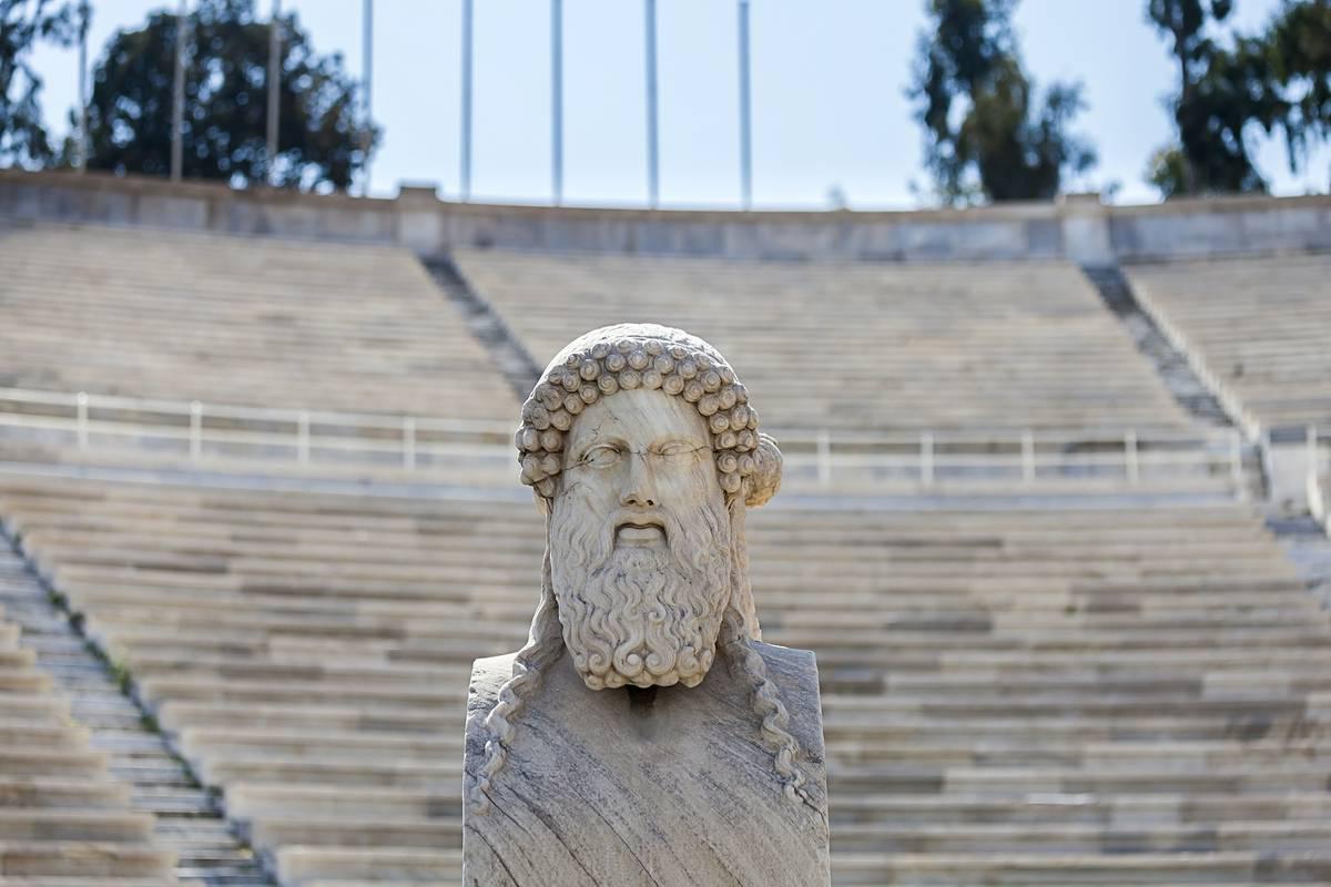 Panathenaic Stadium Athens Ruebarue