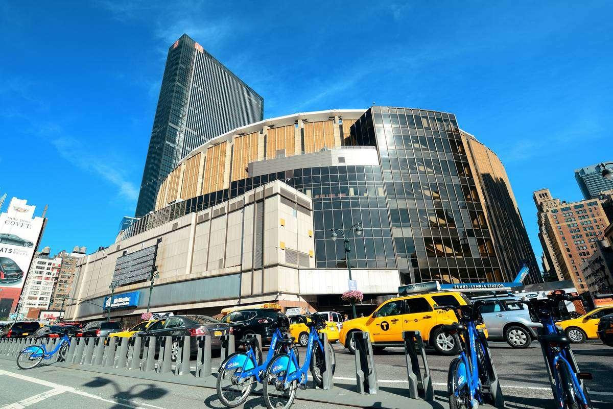 Madison Square Garden New York City Ruebarue