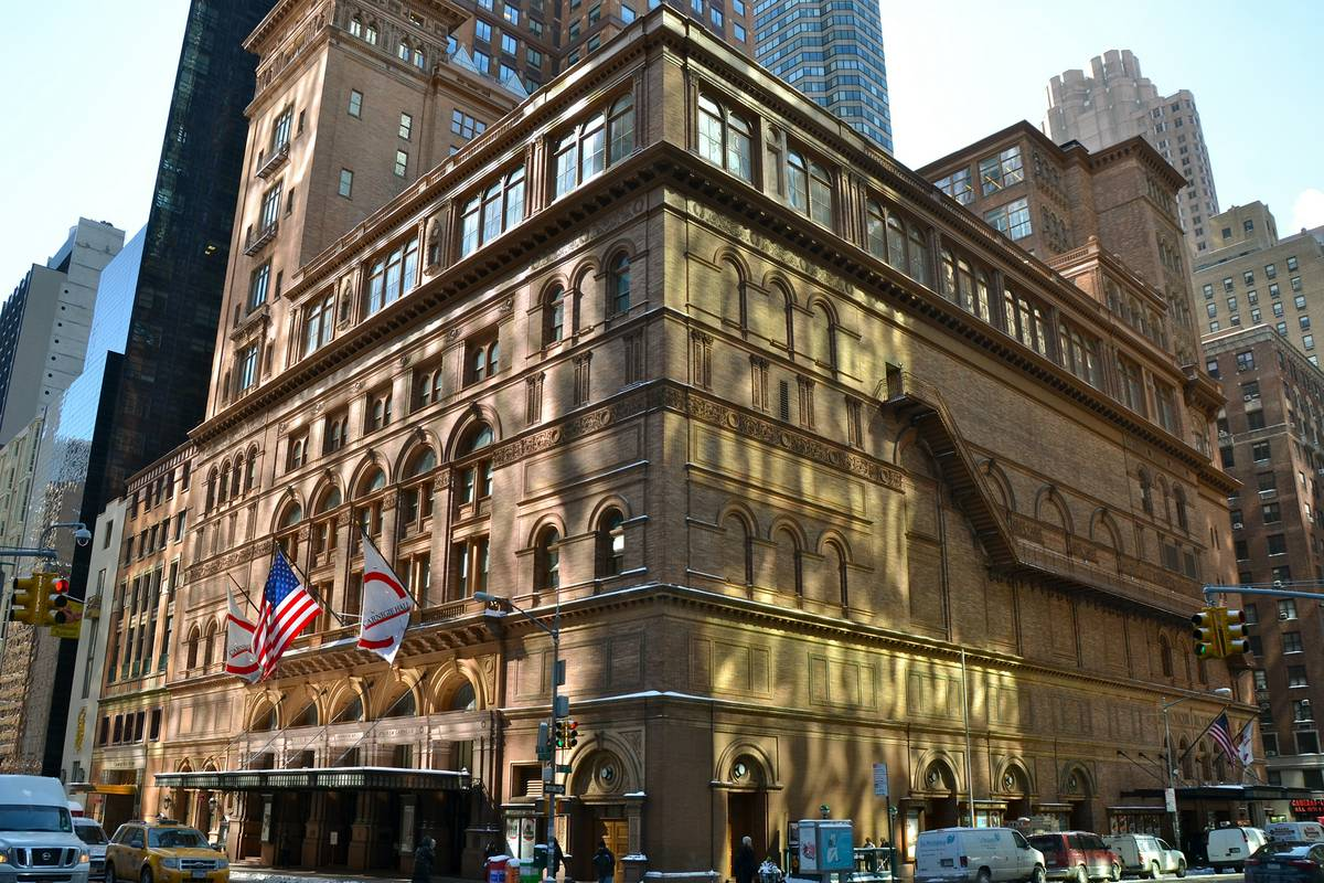 Carnegie hall new york city ruebarue for Case vacanza a new york manhattan