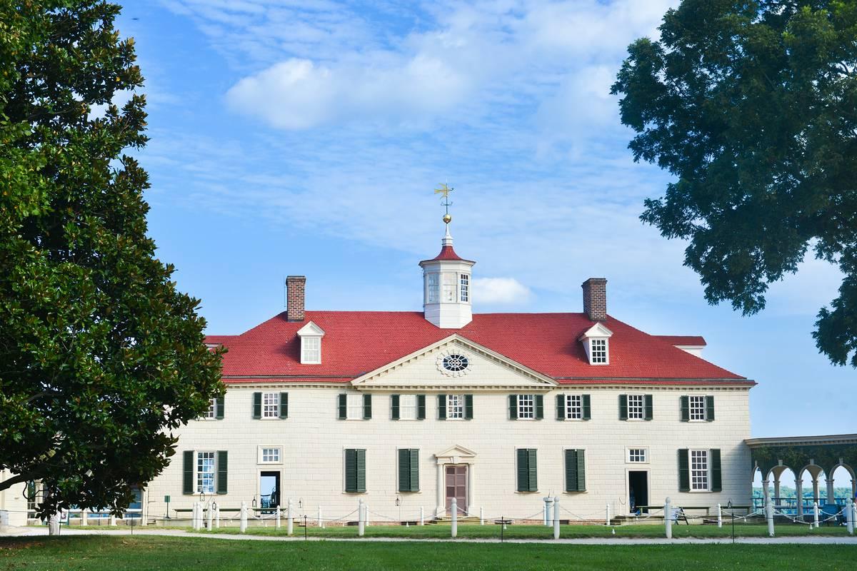 George Washington S Mount Vernon Washington Dc Ruebarue