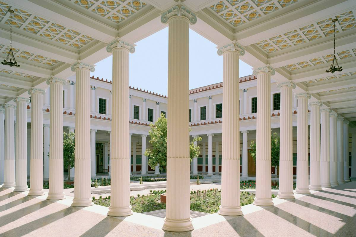 The Getty Villa Malibu Ca