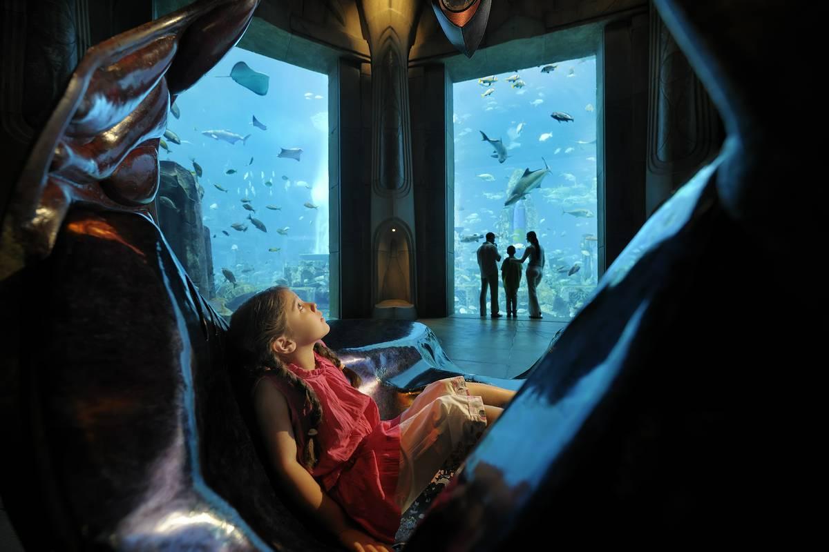 The Lost Chambers Aquarium, Dubai - RueBaRue