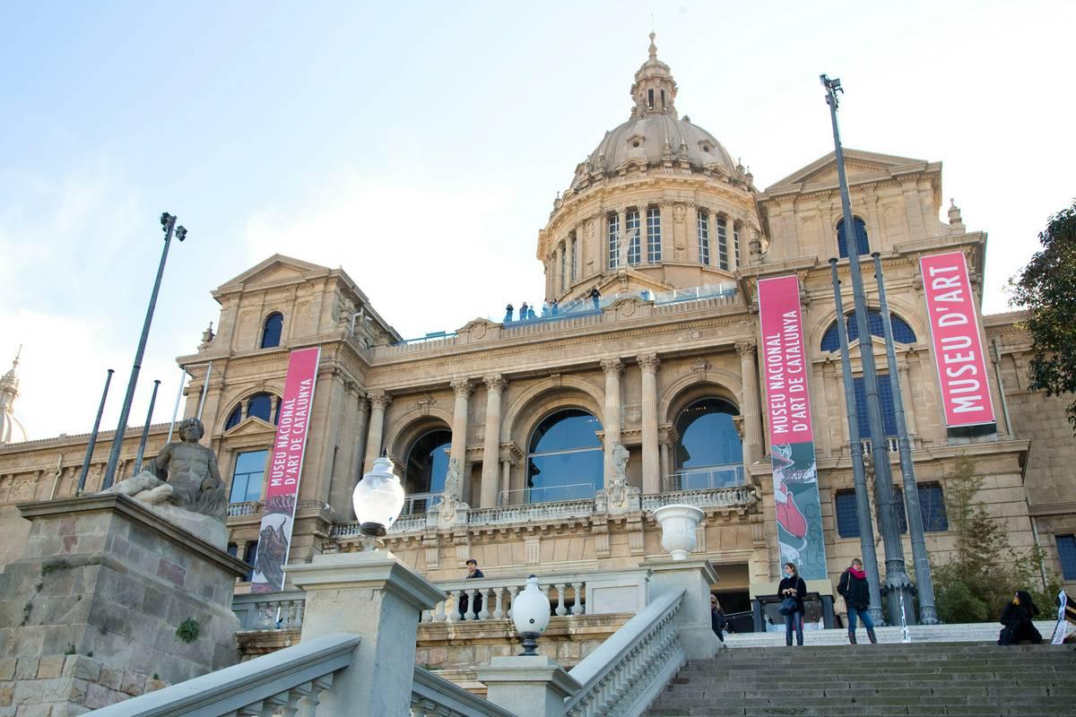 Museu Nacional d' Art de Catalunya-MNAC, Barcelona - RueBaRue