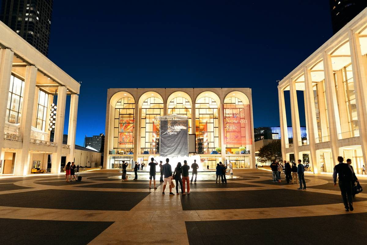 Lincoln Center For The Performing Arts New York City