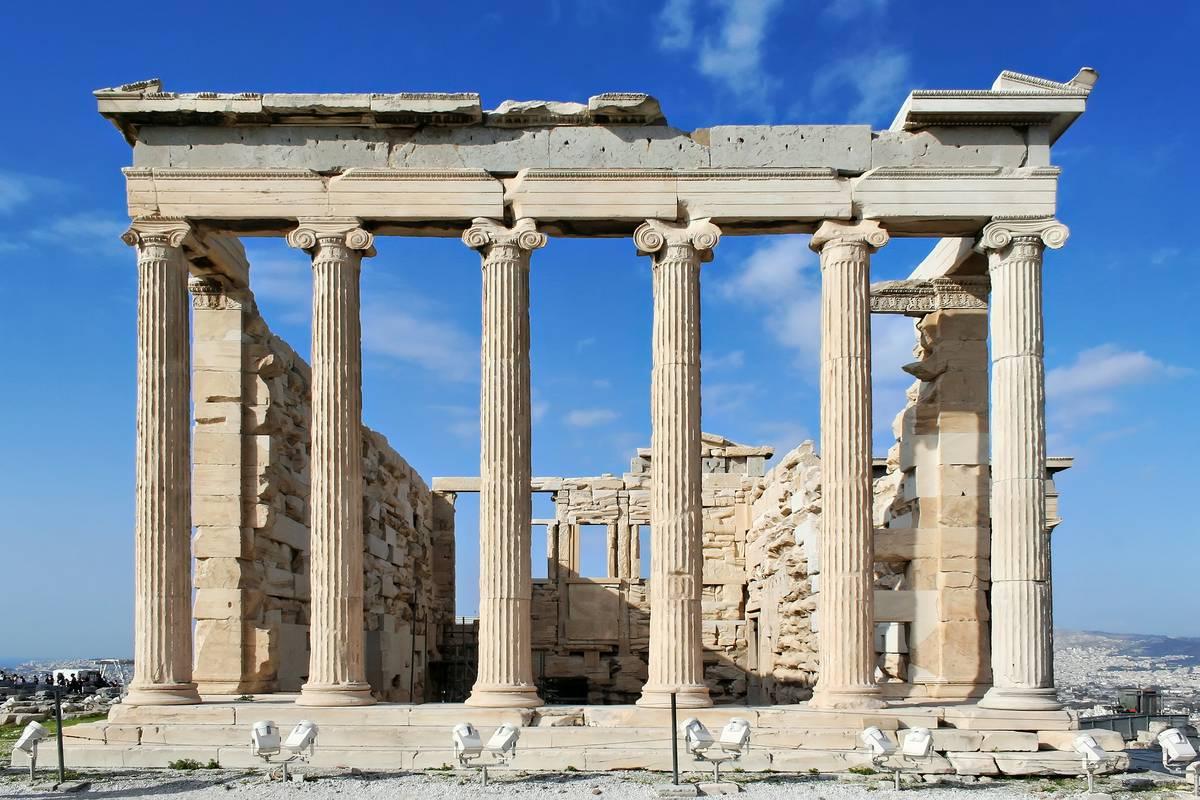 Erechtheion Athens Ruebarue