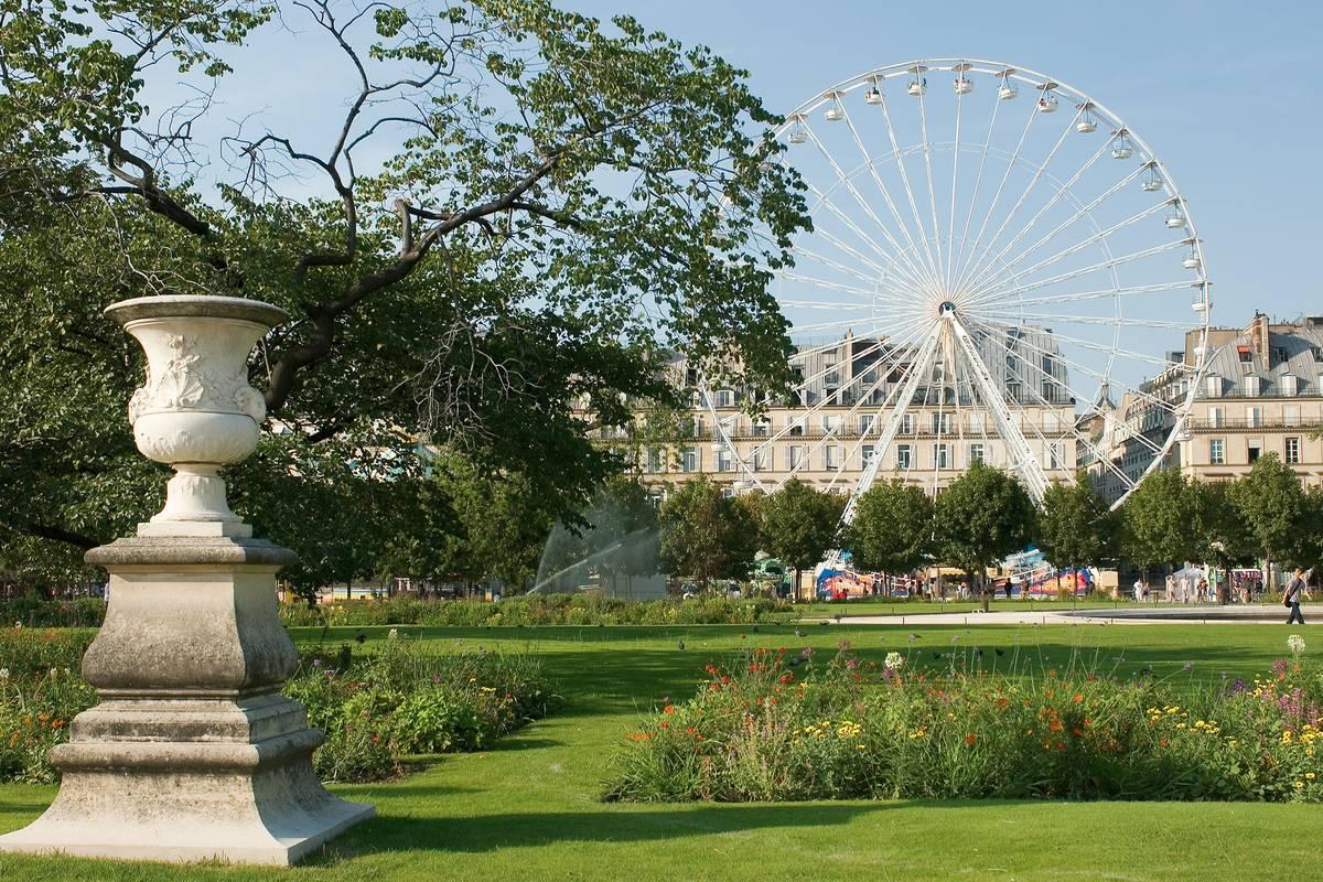 Jardin des tuileries paris ruebarue for Jardin des tuilerie