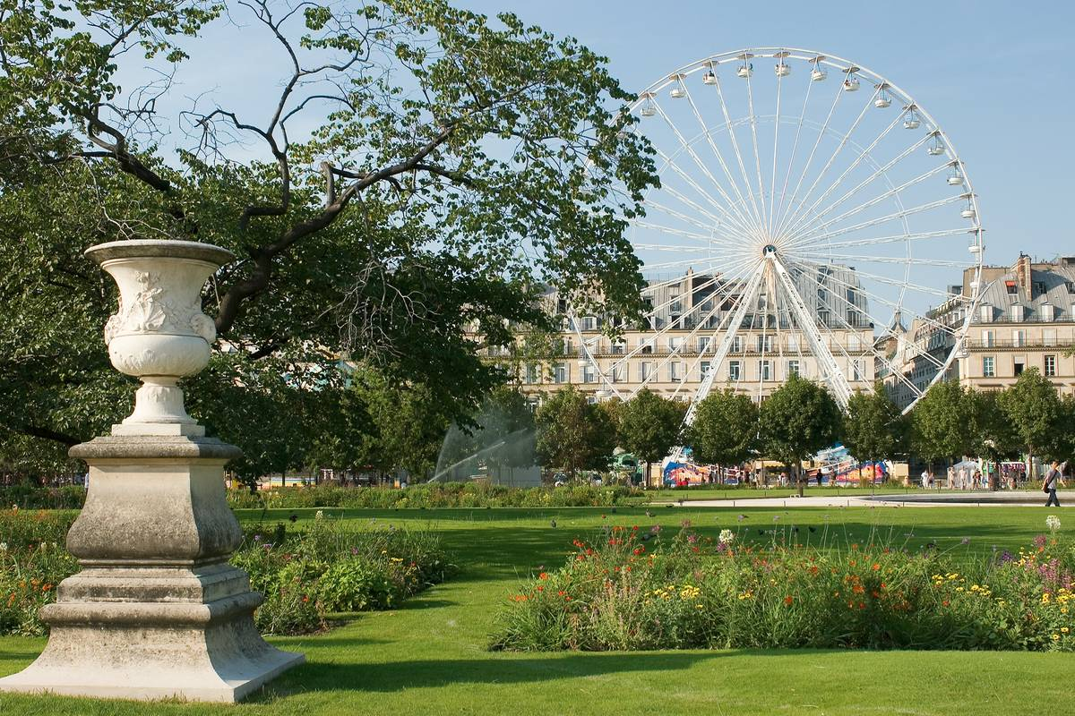 Jardin des tuileries paris ruebarue for Jardin jardin tuileries