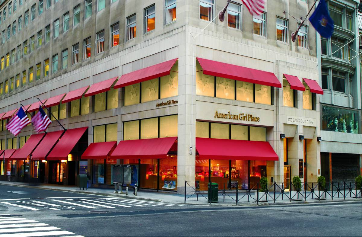 American Girl Doll Store In New York City Videos