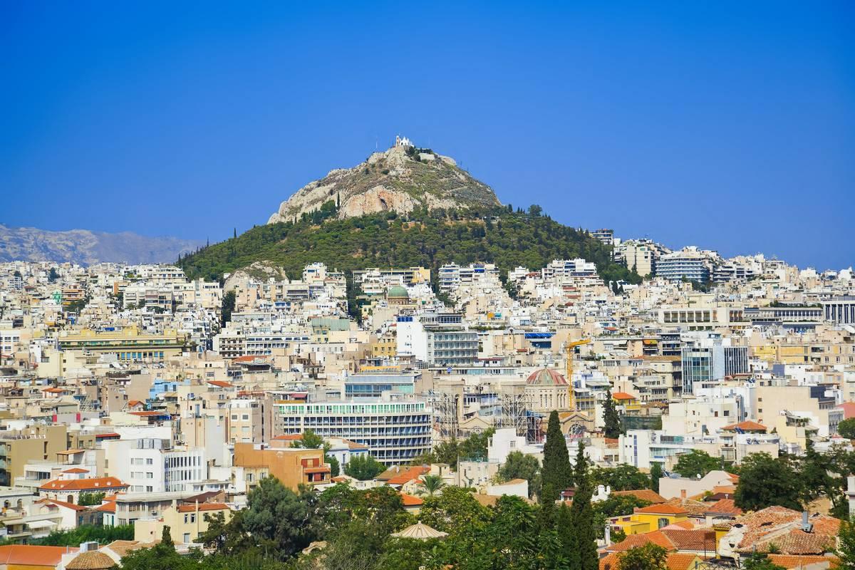Mt. Lycabettus (Likavitos), Athens - RueBaRue