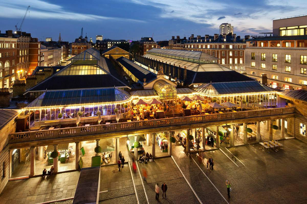 Covent Garden London Ruebarue