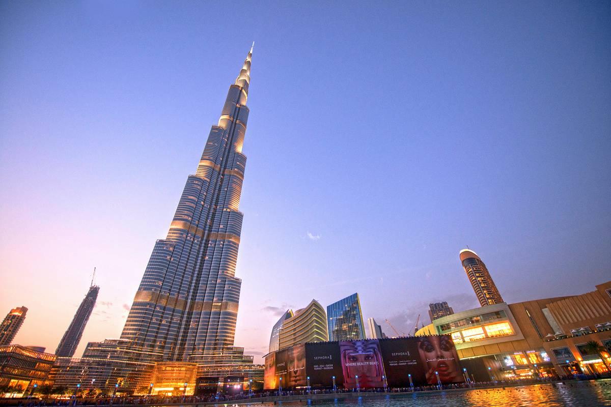 Burj khalifa dubai ruebarue for Burj al khalifa how many floors